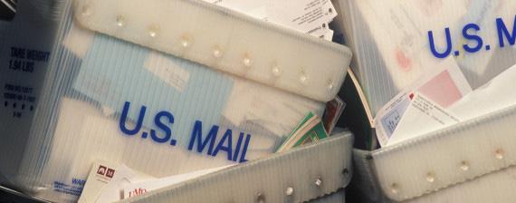 Mail bins
